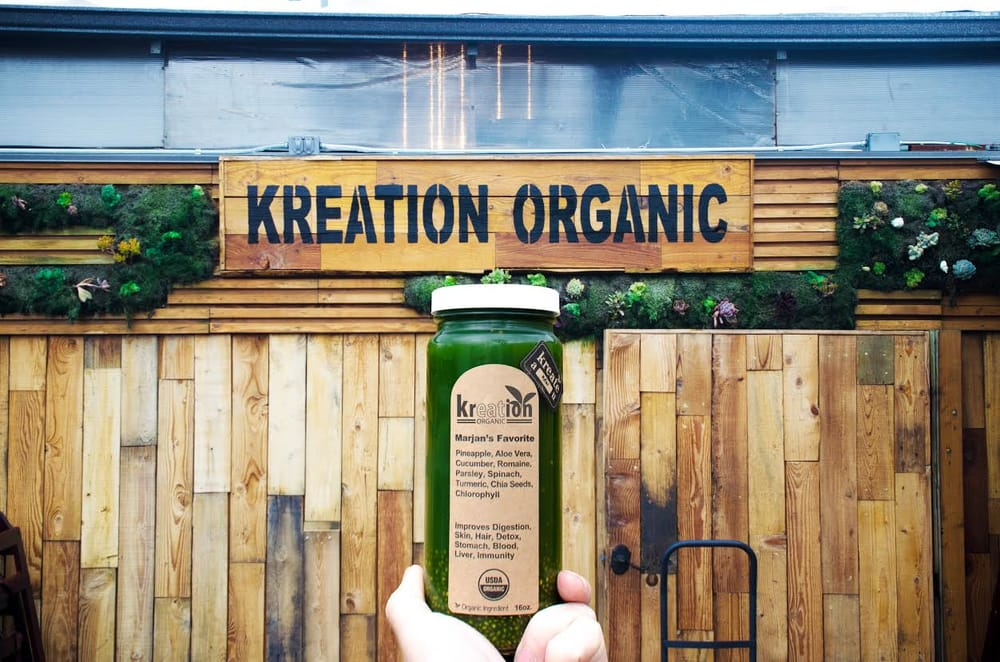 Kreation Juice Brentwood